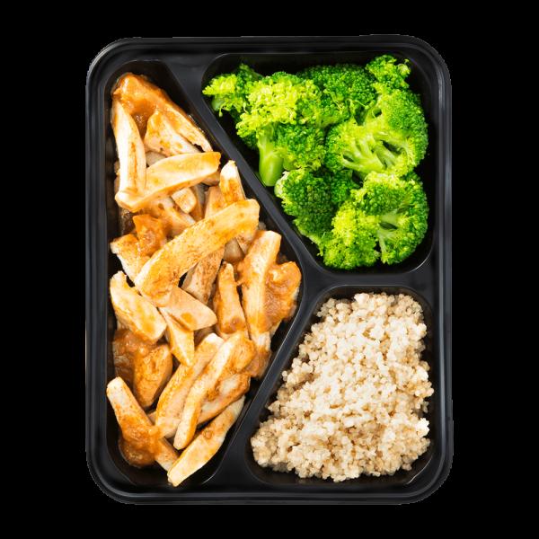 Hähnchenbrust Teriyaki-Style mit Quinoa und Broccoli