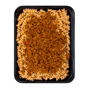 Wholemeal Fusilli with Beef Bolognese